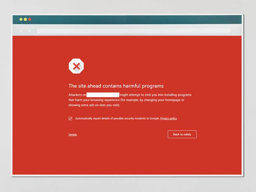 Cảnh báo bảo mật của Google Chrome