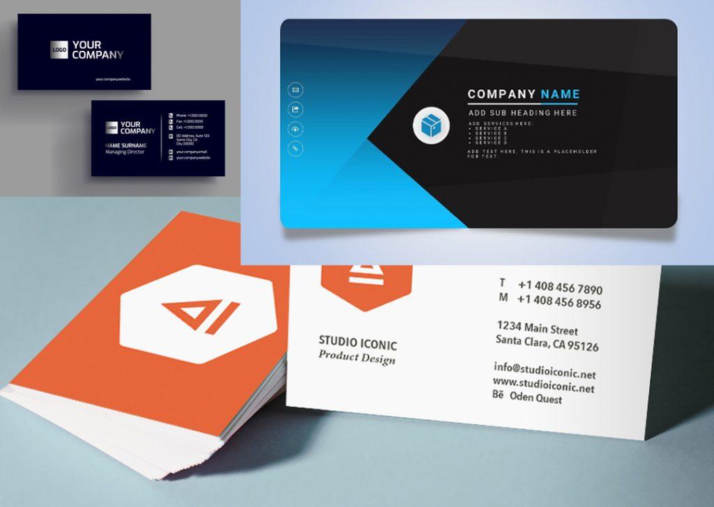 Thiết kế namecard, profile doanh nghiệp